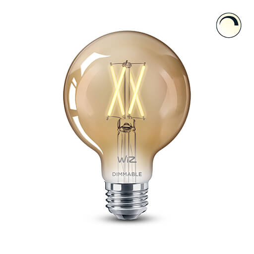 G25 Filament Dimmable Warm White