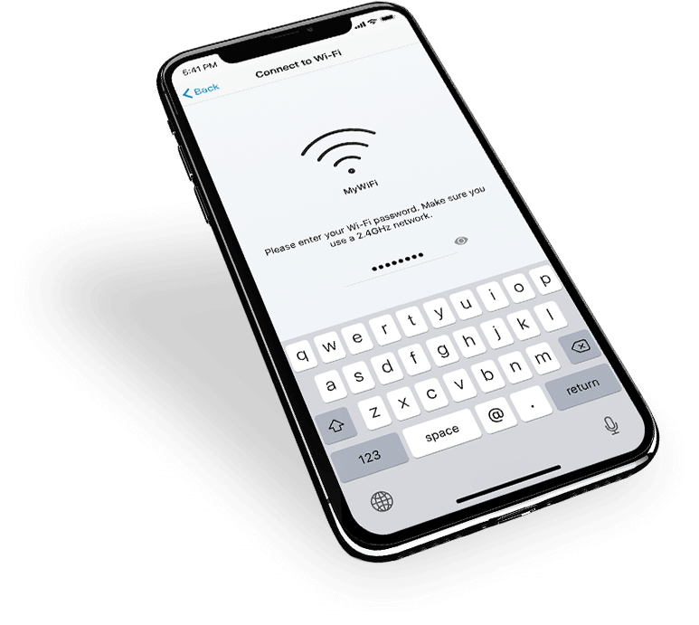 FONCTIONNE AVEC VOTRE BOX INTERNET Wi-Fi EXISTANTE