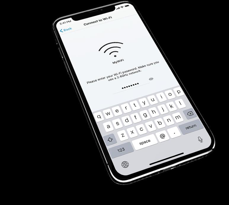 FUNGERER MED DIN EKSISTERENDE Wi-Fi ROUTER